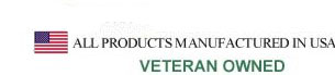 GSA Contract, All Products Manufactured in USA, Veteran Owned, Since 1989